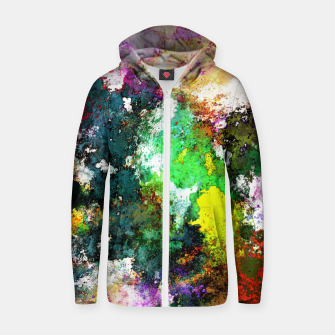 Thumbnail image of Tumbling down Zip up hoodie, Live Heroes