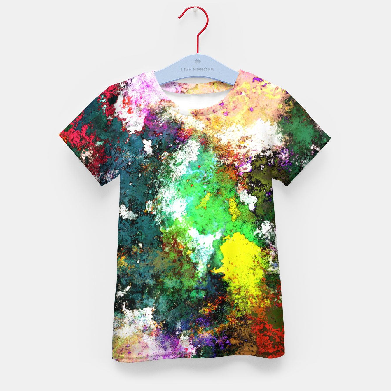 Image of Tumbling down Kid's t-shirt - Live Heroes