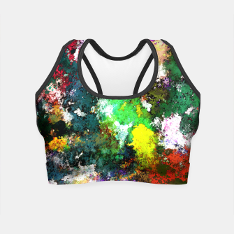 Miniatur Tumbling down Crop Top, Live Heroes