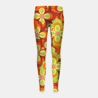 Thumbnail image of zappwaits Girl's leggings, Live Heroes