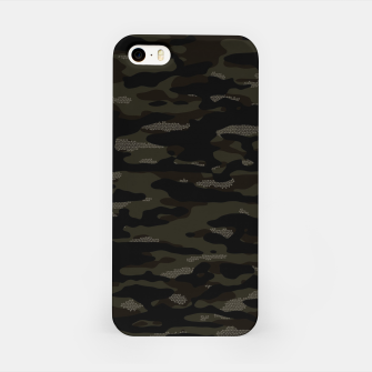 Thumbnail image of Dark Camouflage Pattern Mosaic Style iPhone-Hülle, Live Heroes