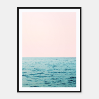 Thumbnail image of Blissful Ocean #1 #wall #decor #art  Plakat mit rahmen, Live Heroes
