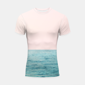 Miniaturka Blissful Ocean #1 #wall #decor #art  Shortsleeve rashguard, Live Heroes