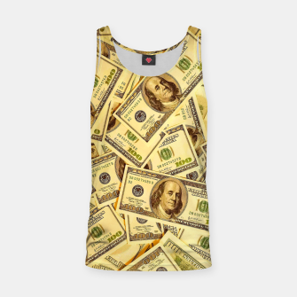 Thumbnail image of Franklin Hundred Dollar Bills Tank Top, Live Heroes