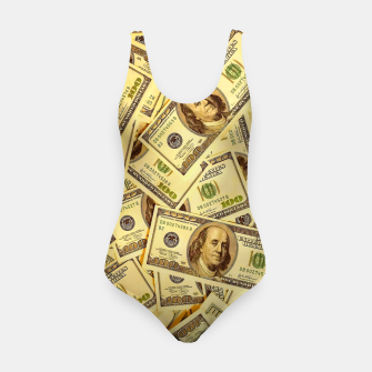 Thumbnail image of Franklin Hundred Dollar Bills Swimsuit, Live Heroes