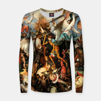Miniatur The Fall of the Rebel Angels Women sweater, Live Heroes