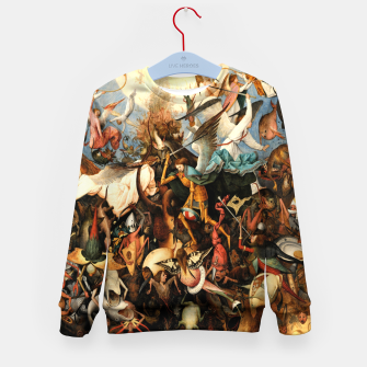 Miniatur The Fall of the Rebel Angels Kid's sweater, Live Heroes
