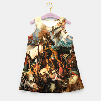 Miniatur The Fall of the Rebel Angels Girl's summer dress, Live Heroes