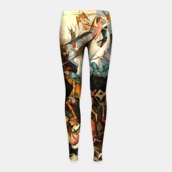 Miniatur The Fall of the Rebel Angels Girl's leggings, Live Heroes