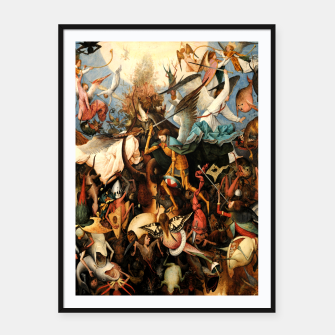 Miniatur The Fall of the Rebel Angels Framed poster, Live Heroes