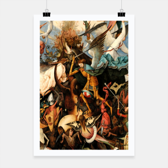 Miniatur The Fall of the Rebel Angels Poster, Live Heroes