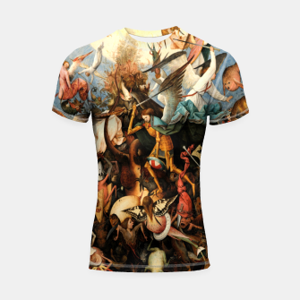 Thumbnail image of The Fall of the Rebel Angels Shortsleeve rashguard, Live Heroes