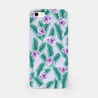 Miniaturka Tropical Banana Leaves Flower Jungle #3 #tropical #decor #art iPhone-Hülle, Live Heroes