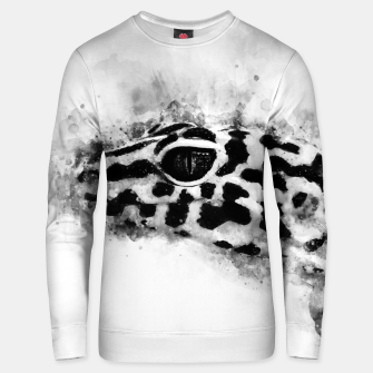 Thumbnail image of Leopard Gecko p2bw Unisex sweater, Live Heroes
