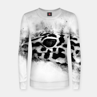 Thumbnail image of Leopard Gecko p2bw Women sweater, Live Heroes