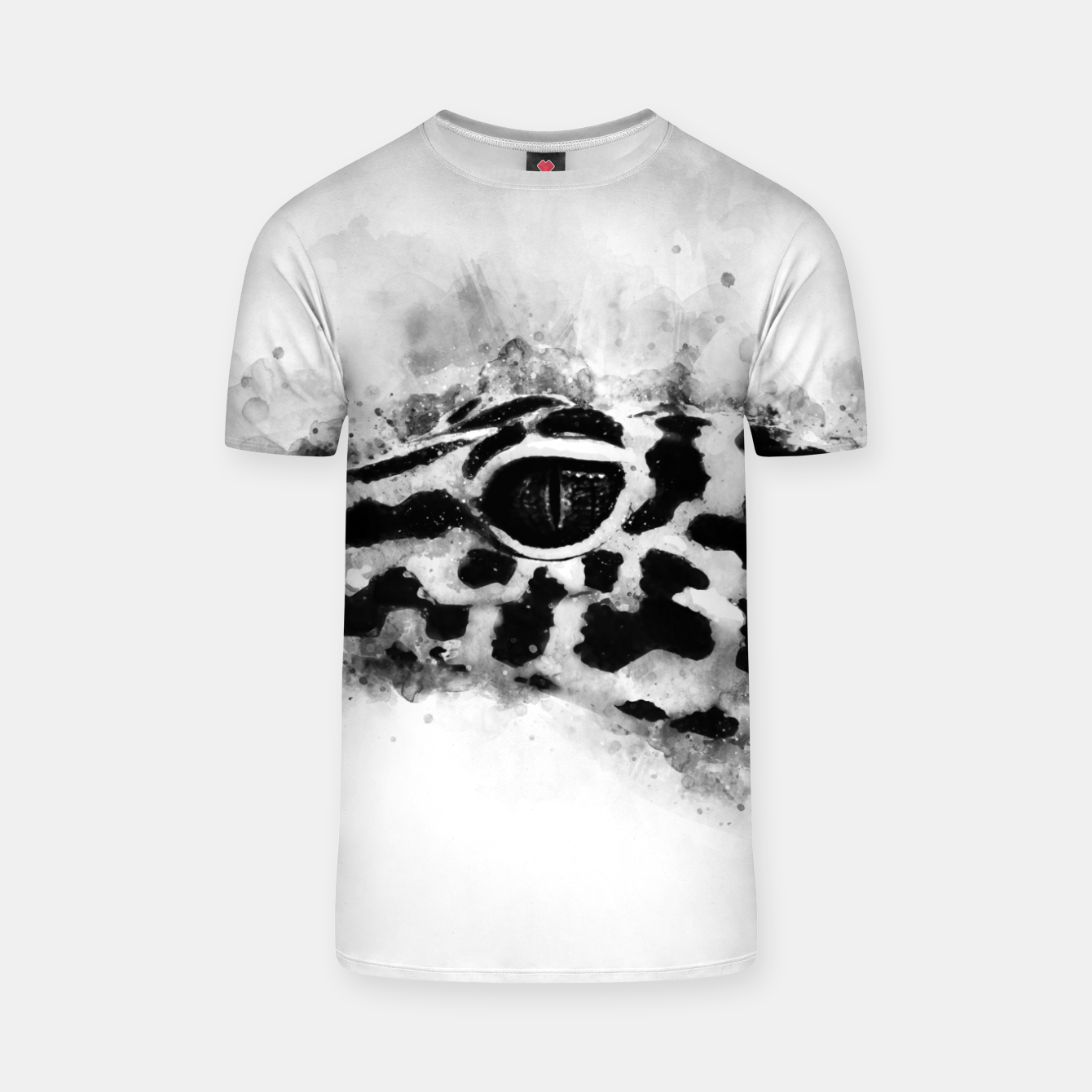 Image of Leopard Gecko p2bw T-shirt - Live Heroes