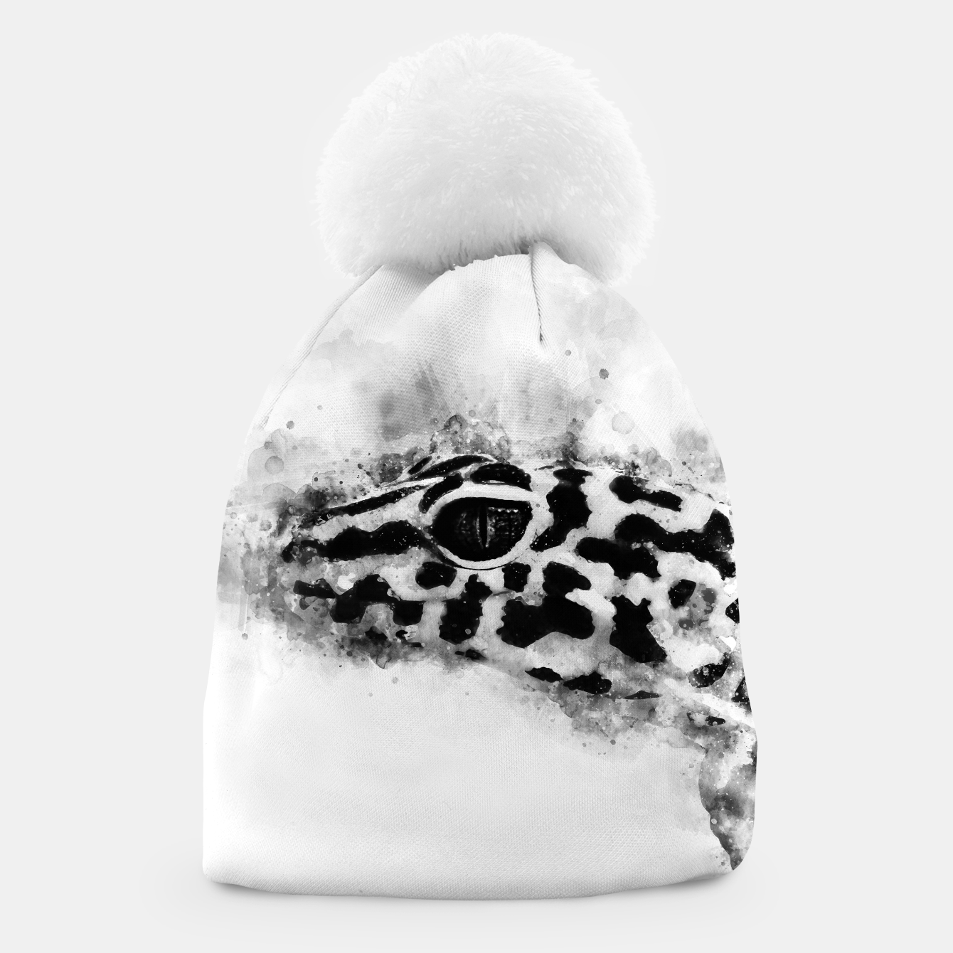Image of Leopard Gecko p2bw Beanie - Live Heroes