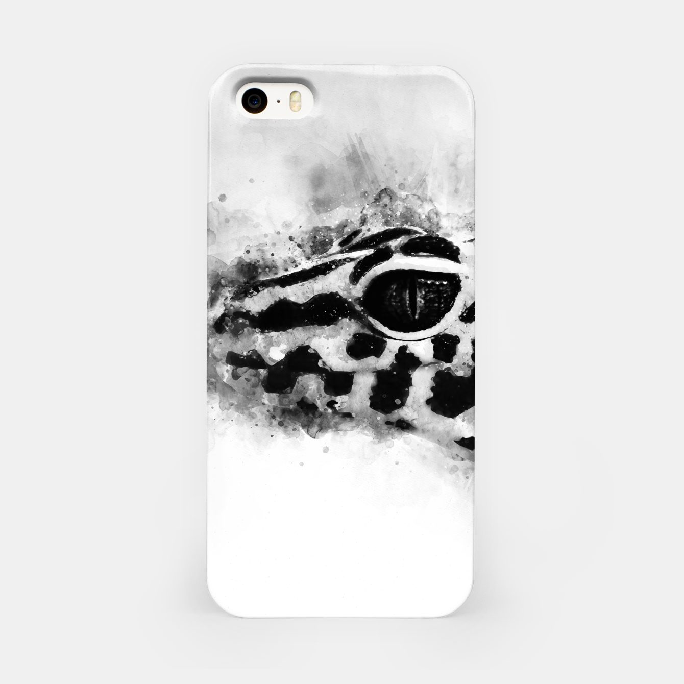 Image of Leopard Gecko p2bw iPhone Case - Live Heroes