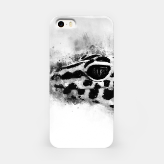 Leopard Gecko p2bw iPhone Case thumbnail image