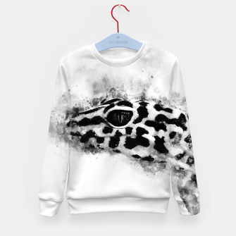 Thumbnail image of Leopard Gecko p2bw Kid's sweater, Live Heroes