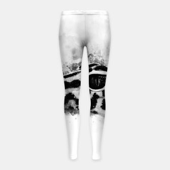 Thumbnail image of Leopard Gecko p2bw Girl's leggings, Live Heroes