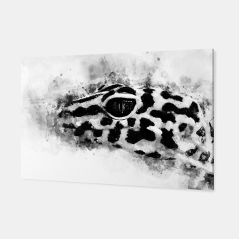 Thumbnail image of Leopard Gecko p2bw Canvas, Live Heroes