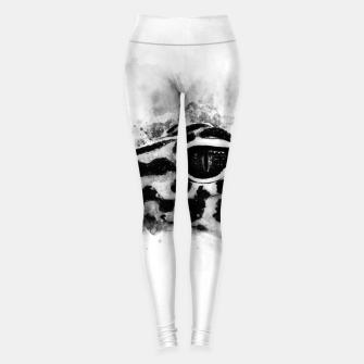 Thumbnail image of Leopard Gecko p2bw Leggings, Live Heroes