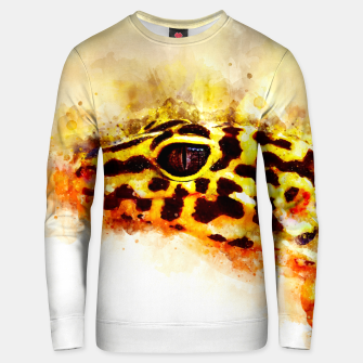 Thumbnail image of Leopard Gecko p2std Unisex sweater, Live Heroes
