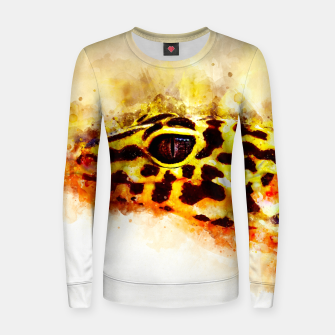 Thumbnail image of Leopard Gecko p2std Women sweater, Live Heroes