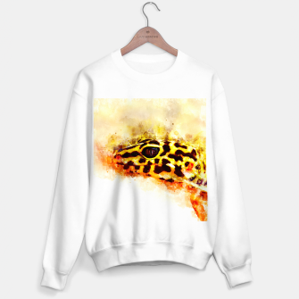 Thumbnail image of Leopard Gecko p2std Sweater regular, Live Heroes