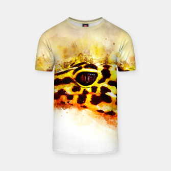 Thumbnail image of Leopard Gecko p2std T-shirt, Live Heroes