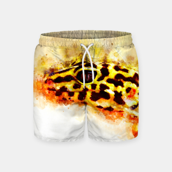 Thumbnail image of Leopard Gecko p2std Swim Shorts, Live Heroes