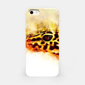 Leopard Gecko p2std iPhone Case thumbnail image