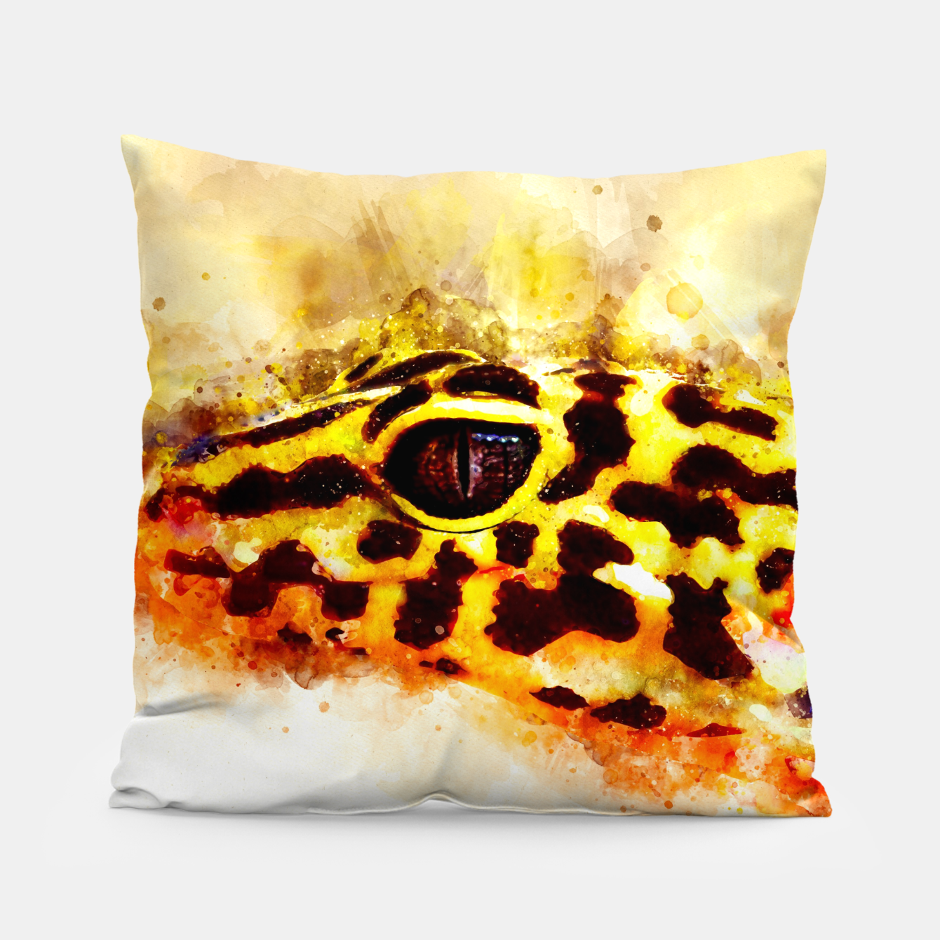 Image of Leopard Gecko p2std Pillow - Live Heroes