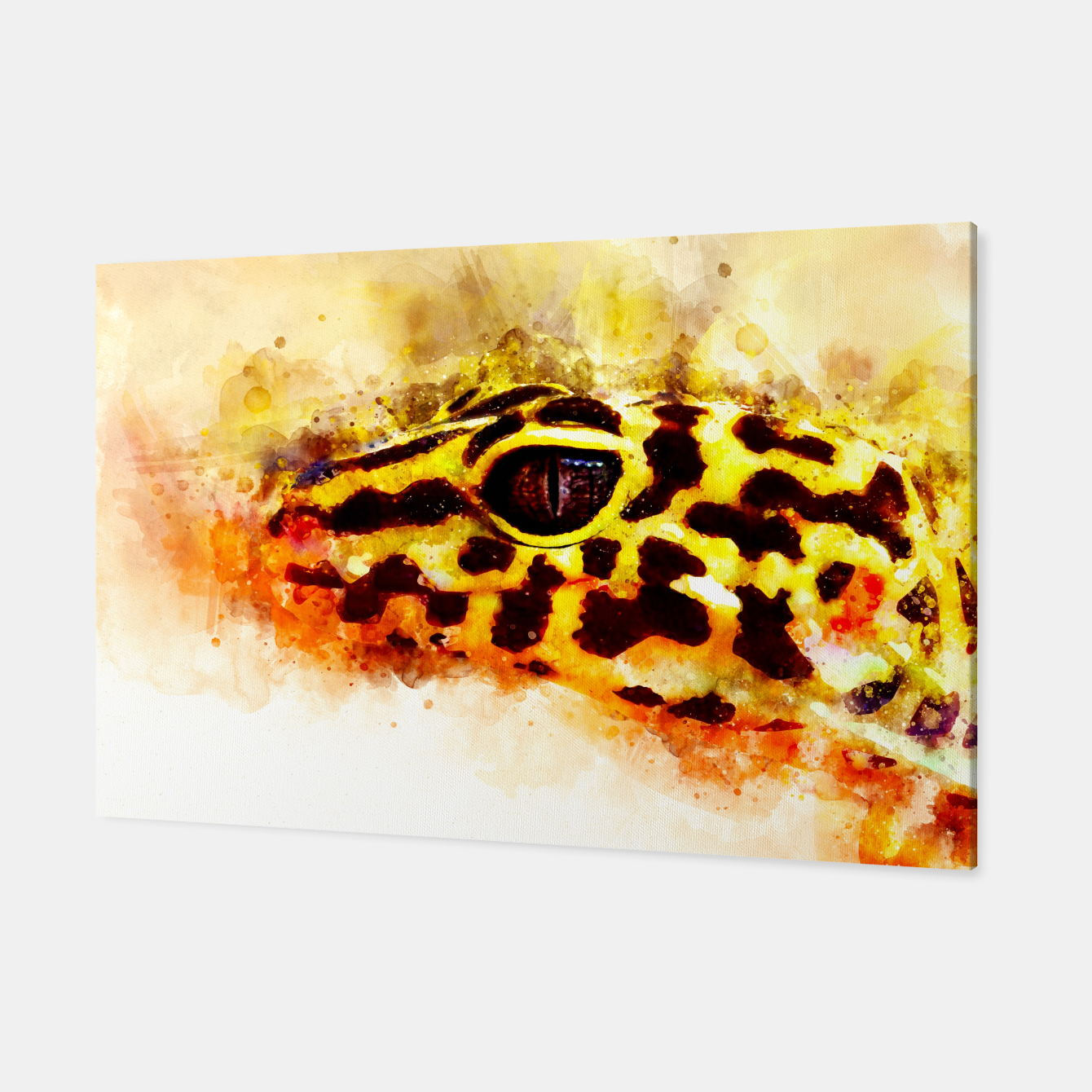Image of Leopard Gecko p2std Canvas - Live Heroes