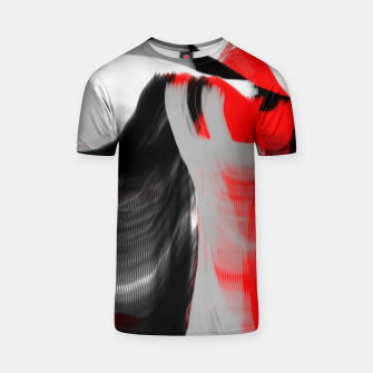 dancing abstract digital painting T-shirt Bild der Miniatur