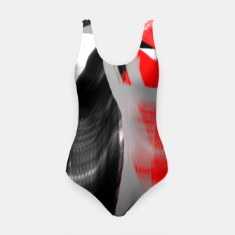Miniatur dancing abstract digital painting Swimsuit, Live Heroes