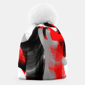 Thumbnail image of dancing abstract digital painting Beanie, Live Heroes