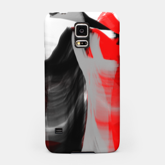 Miniatur dancing abstract digital painting Samsung Case, Live Heroes