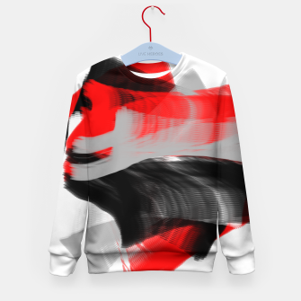 Thumbnail image of dancing abstract digital painting Kid's sweater, Live Heroes