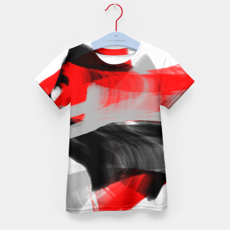 dancing abstract digital painting Kid's t-shirt thumbnail image