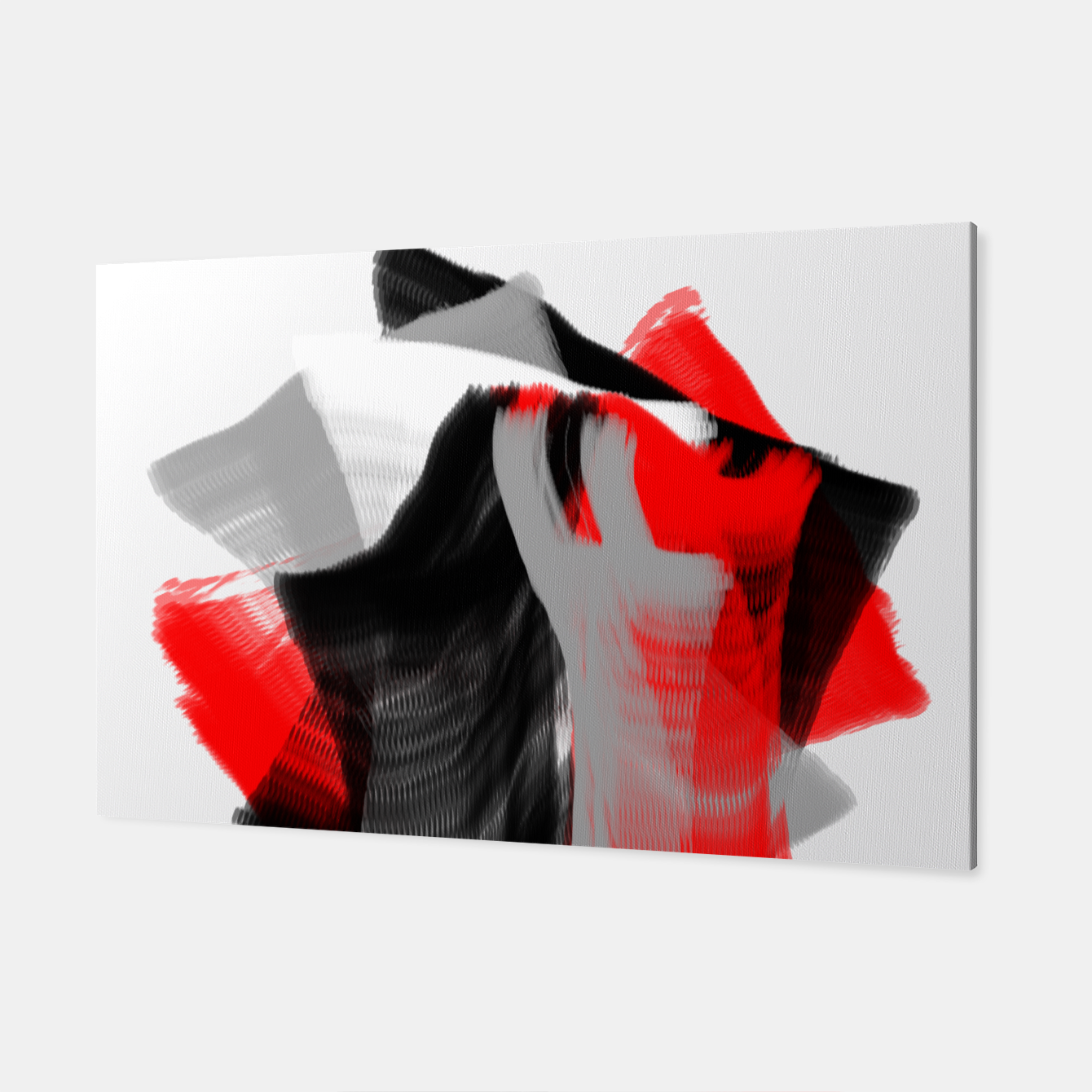 Foto dancing abstract digital painting Canvas - Live Heroes
