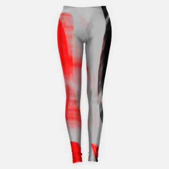 Miniatur dancing abstract digital painting Leggings, Live Heroes