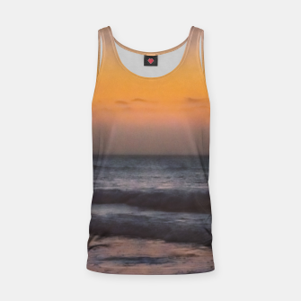 Miniatur Seascape Sunset at Jericoacoara, Ceara, Brazil Tank Top, Live Heroes