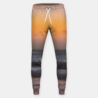 Miniatur Seascape Sunset at Jericoacoara, Ceara, Brazil Sweatpants, Live Heroes