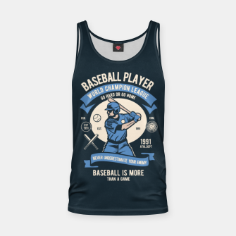 Thumbnail image of BASEBALL PLAYER - World Champion League. Tank Top, Live Heroes
