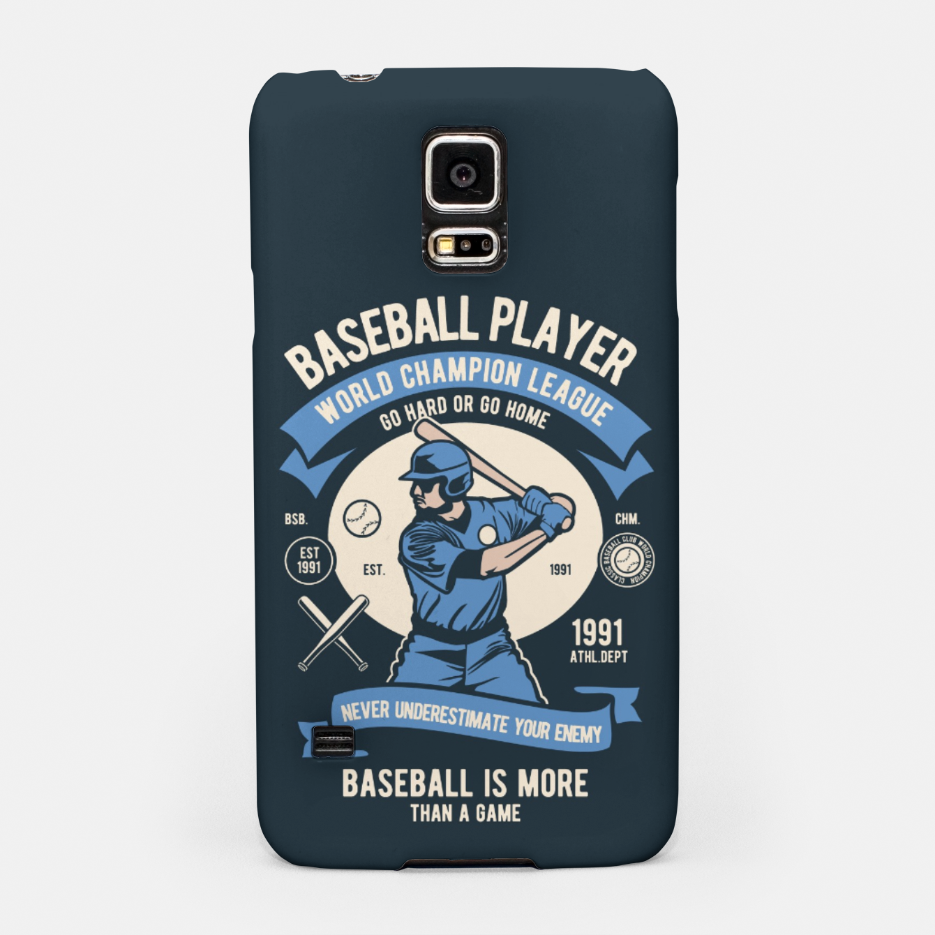 Image of BASEBALL PLAYER - World Champion League. Samsung Case - Live Heroes