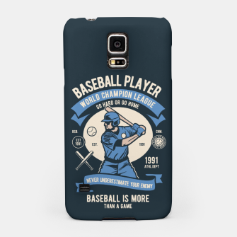 Thumbnail image of BASEBALL PLAYER - World Champion League. Samsung Case, Live Heroes