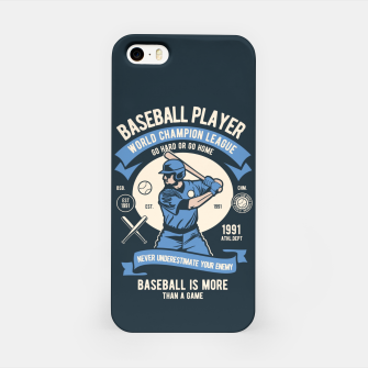 Thumbnail image of BASEBALL PLAYER - World Champion League. iPhone Case, Live Heroes