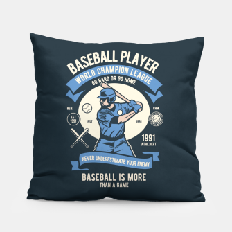 Thumbnail image of BASEBALL PLAYER - World Champion League. Pillow, Live Heroes
